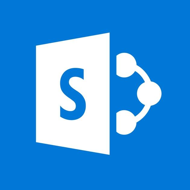 microsoft sharepoint in de app store