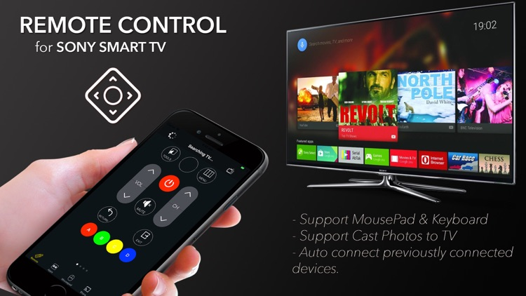 Remote Control for TV Sony by LB Mobile Apps