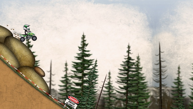Stickman Downhill - Motocross screenshot-3