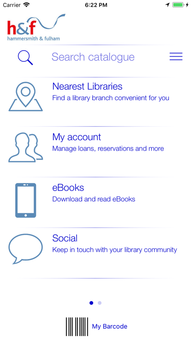 LBHF, RBKC & WCC Libraries screenshot four