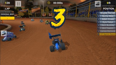 Dirt Trackin Sprint Cars screenshot 3
