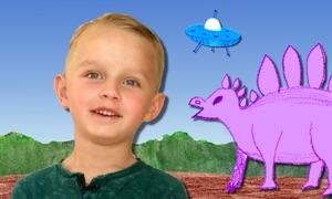 Patrick's Dinosaur: Space Dino