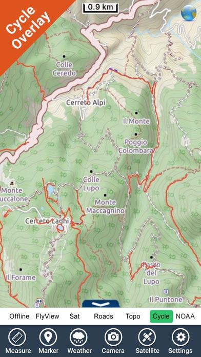 Appennino Tosco-Emiliano NP GPS Map Navigator-2