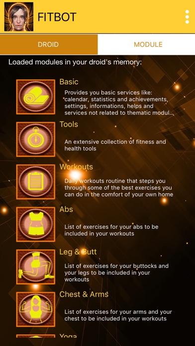 Flat stomach workouts - FitBot screenshot 3