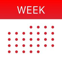 WeekCal iPad