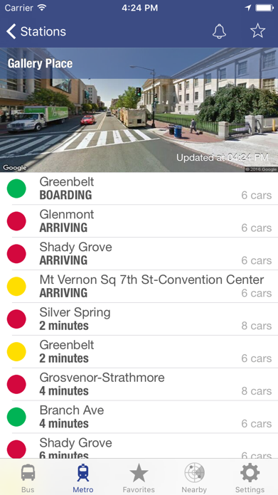 DC Metro and Bus Screenshot