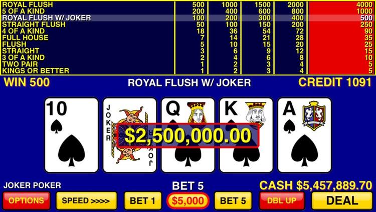 Video Poker Games screenshot-4