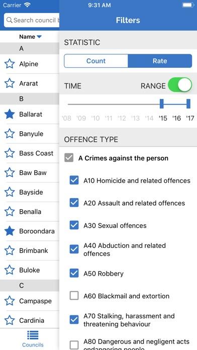 Victoria Crime Log   App Price Drops