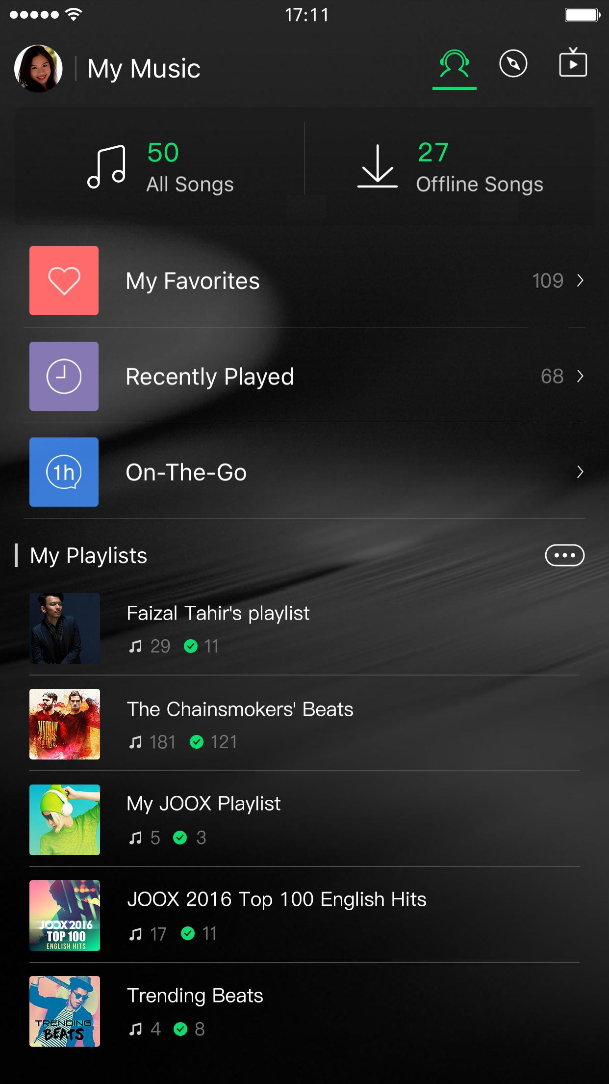 Joox music aso report and app store data apptweak joox music screenshot stopboris Images