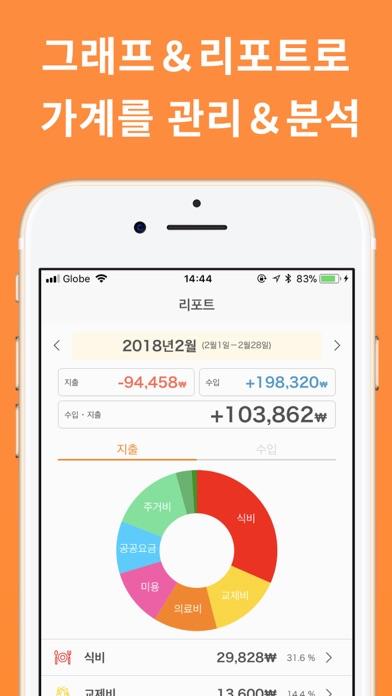 심플 간편 가계부 MoneyNote - 지출기입장 앱 for Windows