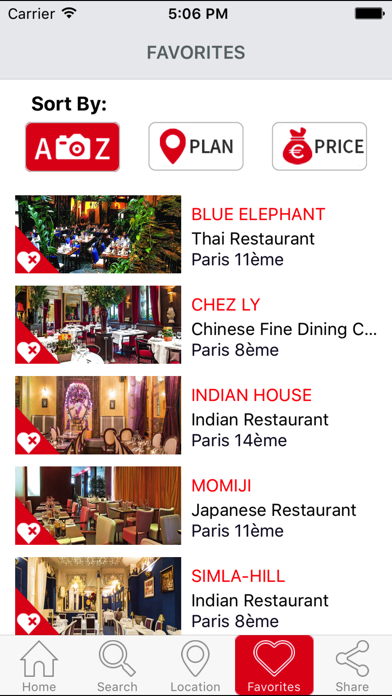 Best restaurants ParisScreenshot of 5