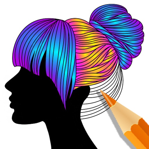 Color Therapy Adult Coloring App Logo