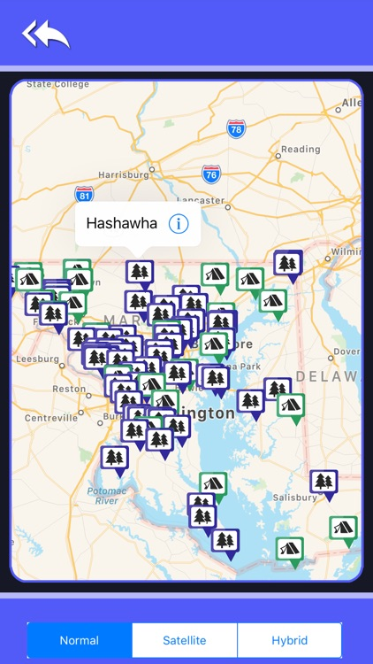 Campgrounds & Rv's In Maryland screenshot-4