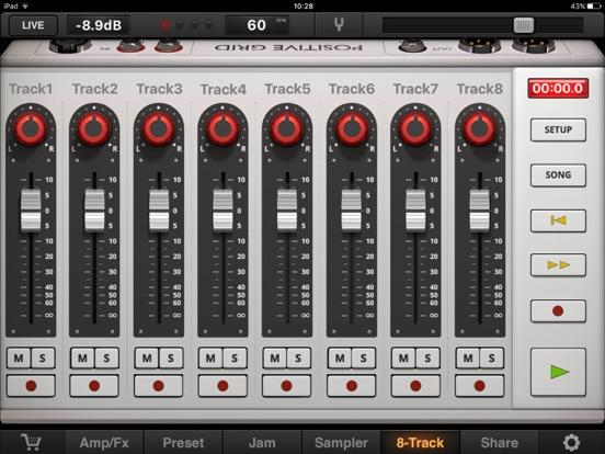 Screenshot #2 for JamUp Pro