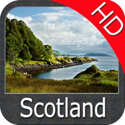 Scotland Nautical Chart HD GPS