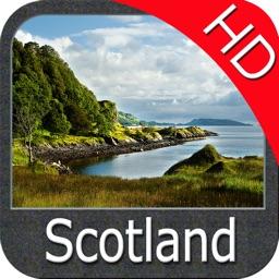 Scotland Nautical Chart HD GPS
