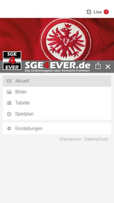 SGE4EVER.deScreenshot von 2