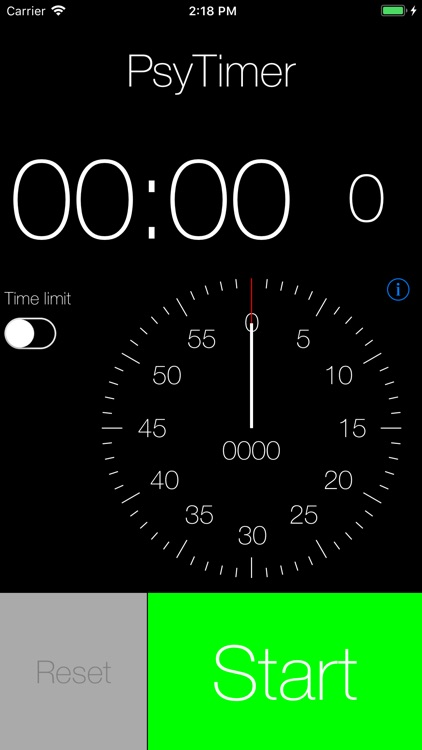 PsyTimer Stopwatch 2 screenshot-0