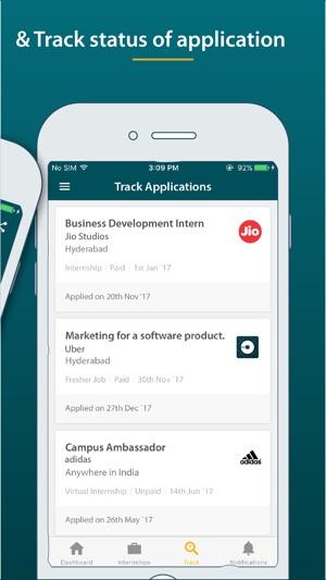 LetsIntern-Internships on tap on the App Store