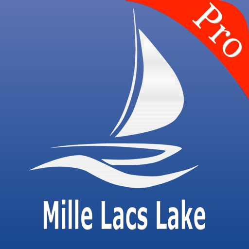 Mille Lacs Lake Charts Pro
