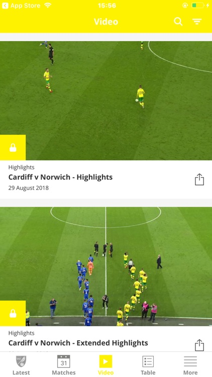 Norwich City Official App