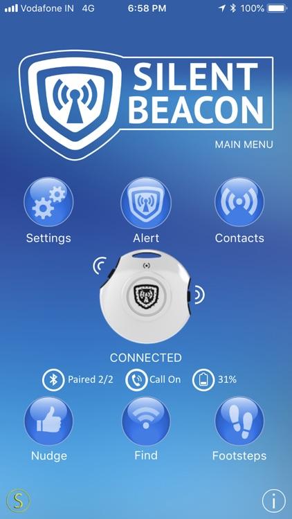 Safety App for Silent Beacon screenshot-0