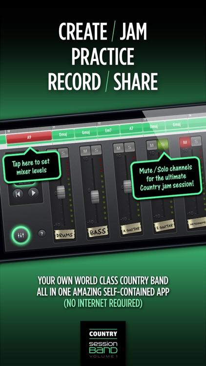 SessionBand Country - Volume 1 screenshot-4