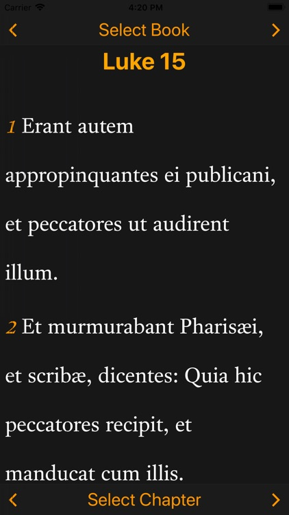 Latin-English Bible screenshot-4