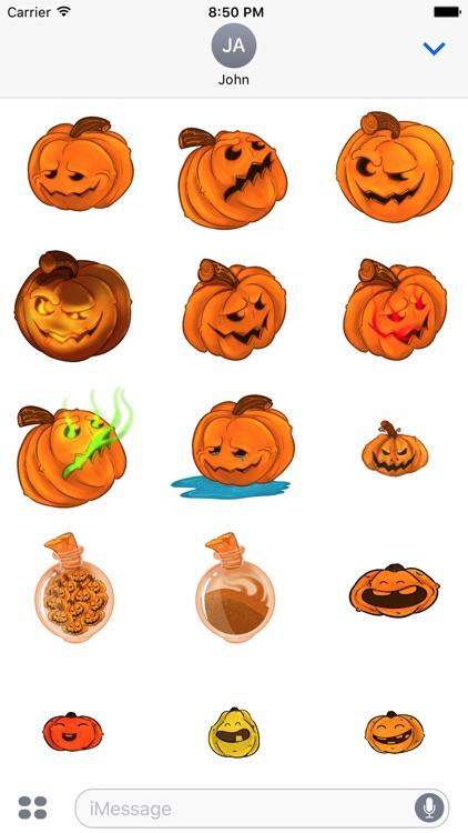 Halloween Pumpkins Sticker Pack