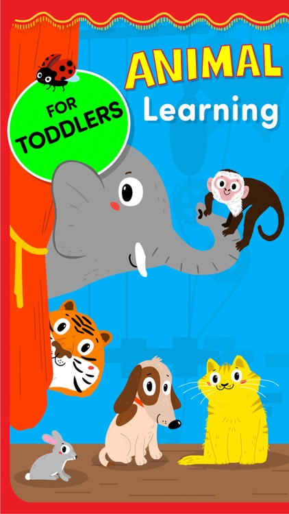 Animals: Toddler learning games for 2 3 year olds