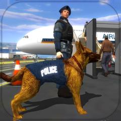 Polizei Hund Flughafen Krimina