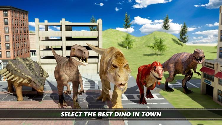 Dinosaur City Simulator Games screenshot-3