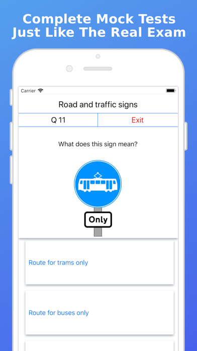 UK 2019 Driving Theory Test FV screenshot two