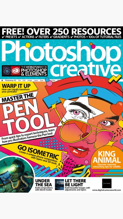 Photoshop Creative Magazine screenshot-0