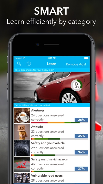 Driving Theory Test Car UK