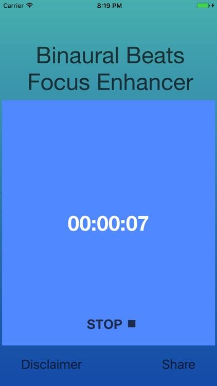 Binaural Beats Focus Enhancer screenshot-3