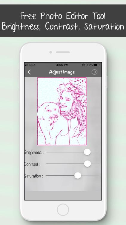 Colourful Sketch Photo Editor screenshot-4