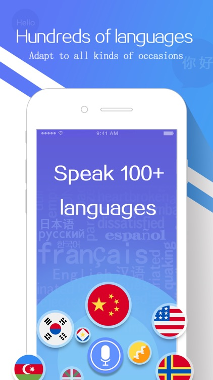 Translate:Voice and Text Translator screenshot-3