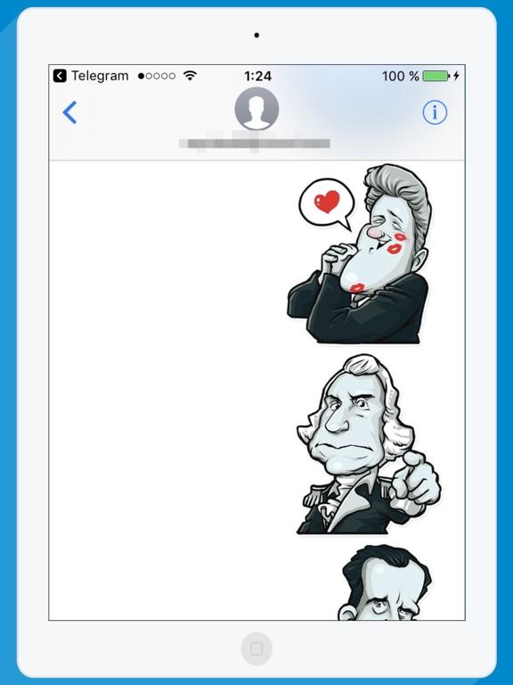 USA Presidents STiK Stickers screenshot 5