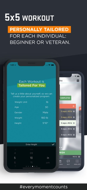 5x5 Workout - Zen Labs on the App Store
