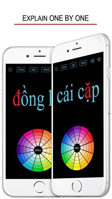 Vietnamese Alphabet & Words screenshot 2