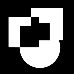Ícone do app Preto e branco