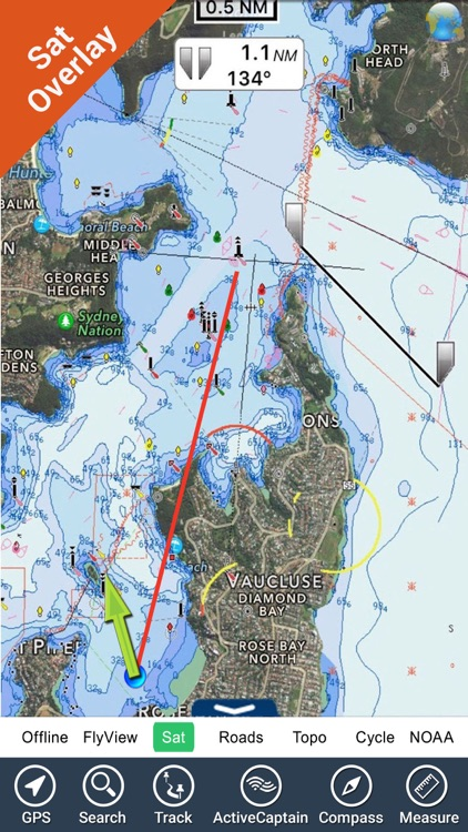 Sydney Nautical Charts GPS HD