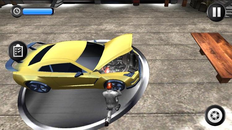 Real Sports Car Mechanic screenshot-3