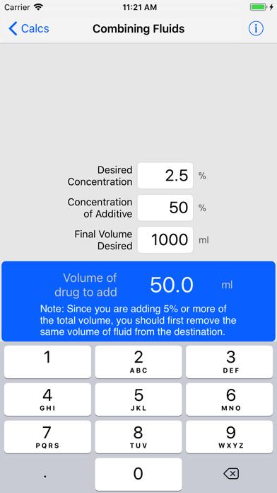 Vetpda Calcs review screenshots