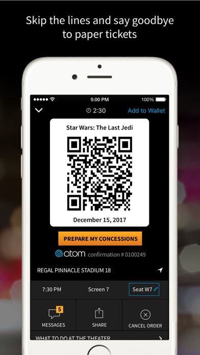 download Atom - Movie Tickets & Times apps 1