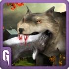 3D lobo simulador Ártico lobos icon