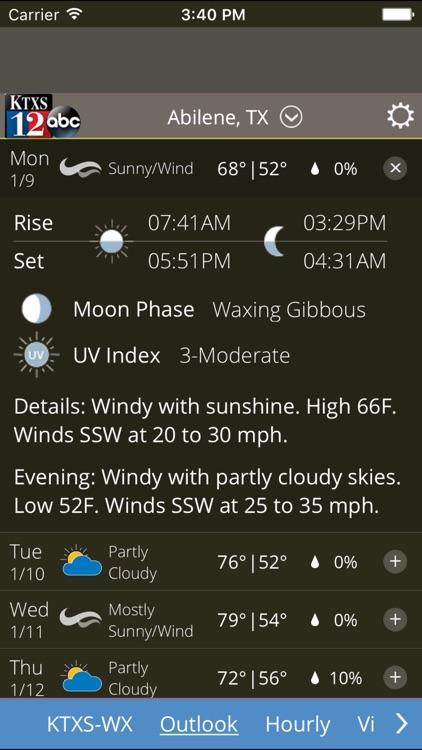 KTXS Weather screenshot-3
