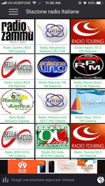 Italiane Radio Station