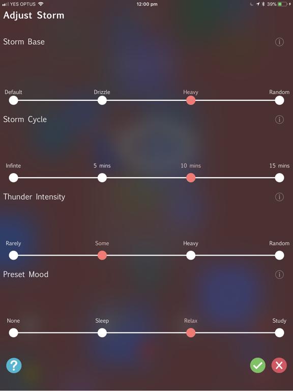 Storm Rain Sounds screenshot 7